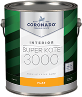 Harrison Paint Supply Super Kote 3000 is newly improved for undetectable touch-ups and excellent hide. Designed to facilitate getting the job done right, this low-VOC product is ideal for new work or re-paints, including commercial, residential, and new construction projects.boom