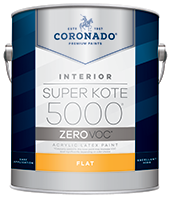 Harrison Paint Supply Super Kote 5000 Zero is designed to meet the most stringent VOC regulations, while still facilitating a smooth, fast production process. With excellent hide and leveling, this professional product delivers a high-quality finish.boom